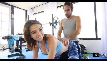 follando en el gym