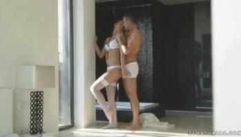 sexo dos hombres y una mujer